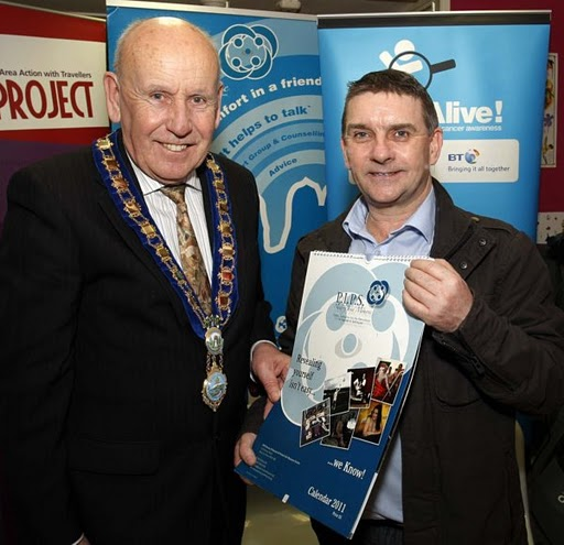 Mayor Murphy launches PIPS Newry & Mourne Calander 2011